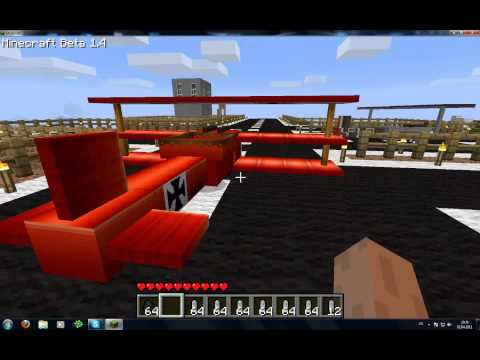 Minecraft Plane Mod 1.4 Update [German/Deutsch] Music Videos