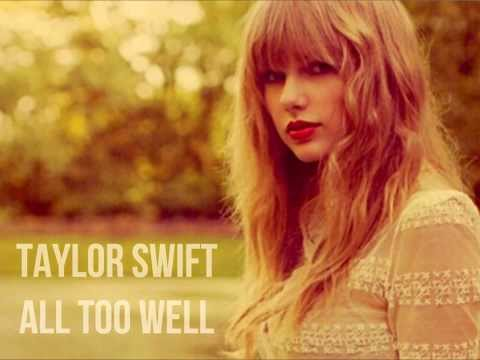 Taylor Swift- All Too Well Lyrics