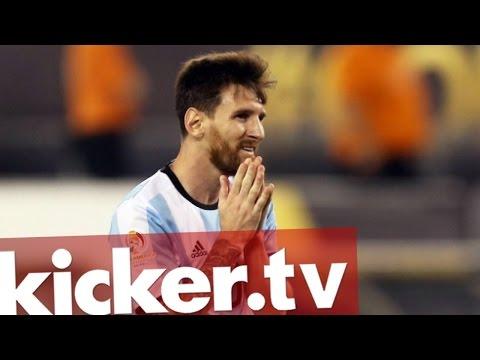 Lionel Messi Beendet Karriere Im Nationalteam - Kicker.tv