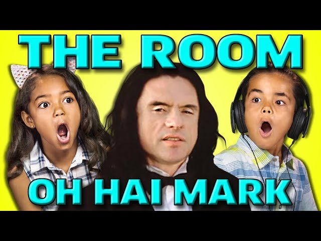 KIDS REACT TO THE ROOM AND THE DISASTER ARTIST