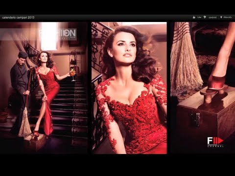 """CAMPARI CALENDAR 2013″  making of with Penelope Cruz by FashionChannel"