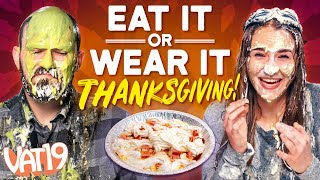 A Pie in the Face! | Eat It or Wear It Challenge #3