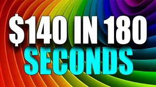 Rainbow - binary options - iq option - the rainbow  140$ in 180 seconds