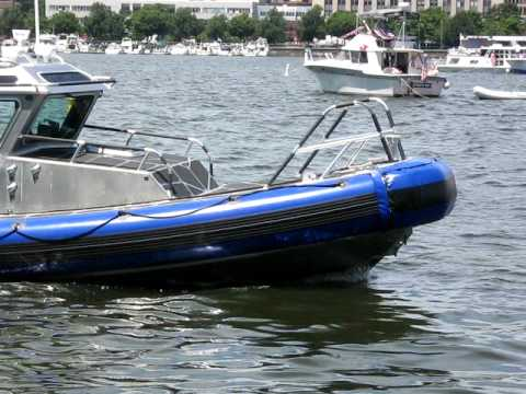 State Police Boat on July 4th