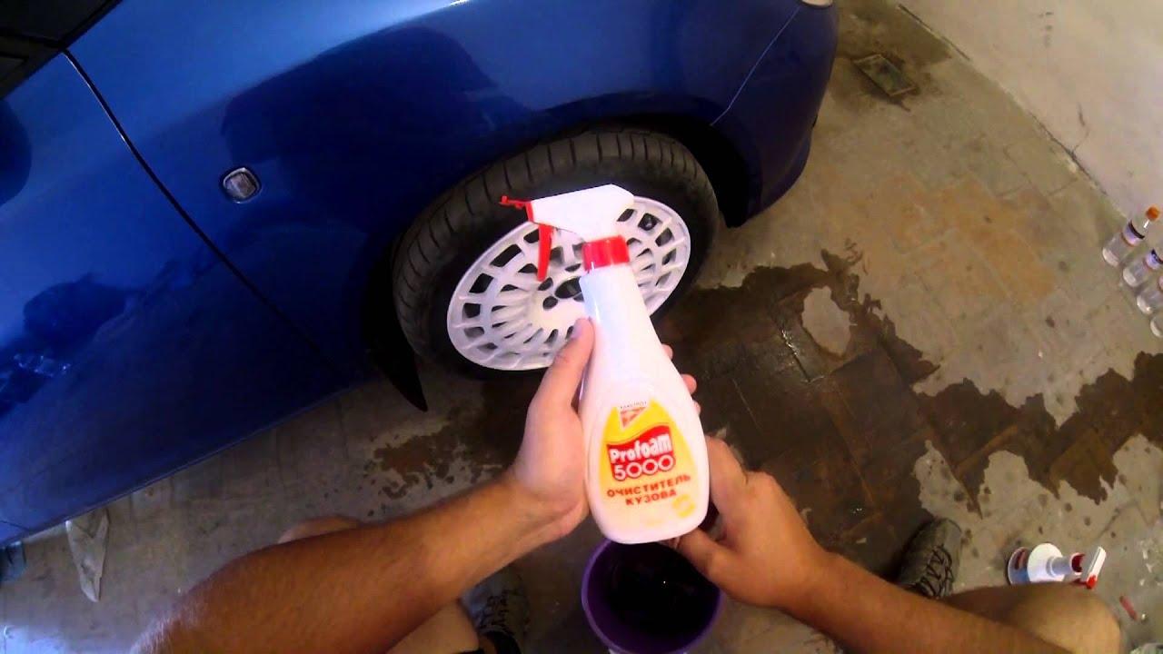 Как очистить колесные диски от краски своими руками в домашних условиях