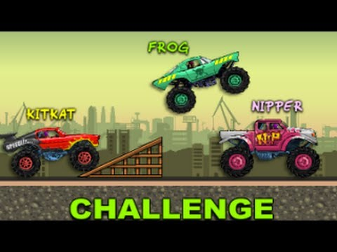 Monster Wheel - Top Monster Truck Game