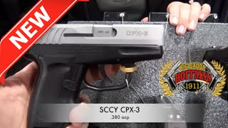 SCCY CPX-3 .380 Pistol