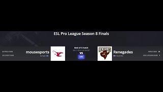 English: mousesports vs Renegades ESL Pro League Season 8 Finals Map 3