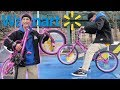 WE BOUGHT AN $80 WALMART BMX BIKE DESTROYED IT AND THEN RETURNED IT!