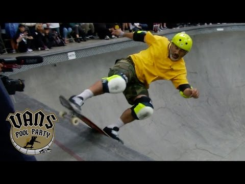 2017 Vans Pool Party – Steve Caballero 1st Place Run