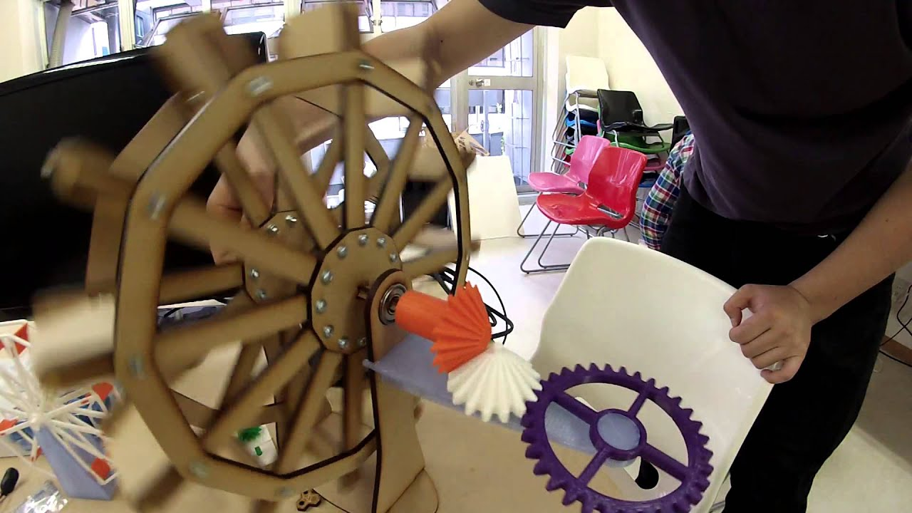 Water Wheel 3d Model Water Wheel Model 3d Printed