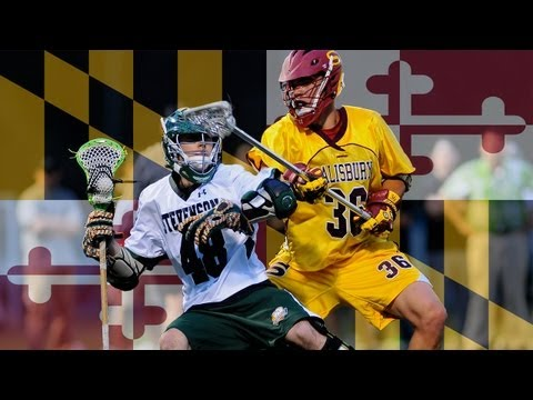 Salisbury vs. Stevenson 2013 | Prodigy Launch College Lacrosse Highlights