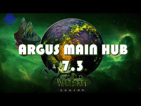 World of Warcraft: Legion - Argus Main Hub (Patch 7.3 PTR)