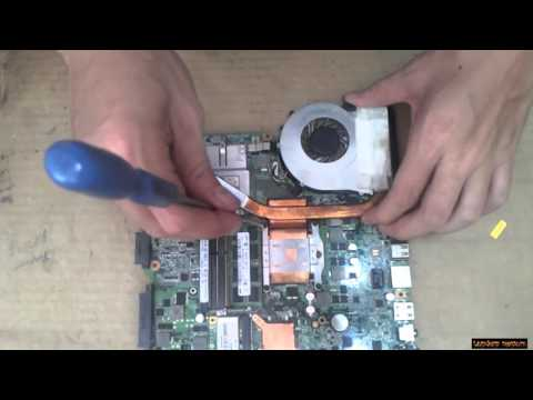Laptop Acer Aspire 4820TG Disassembly and fan cleaning  Laptop repair