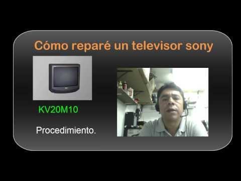 Procedimiento para reparar un Tv Sony que no prende. CC