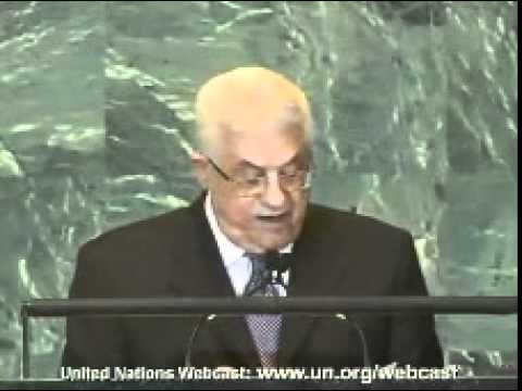 Abbas speech at UN General Assembly Sept. 23rd 2011 - Part 1