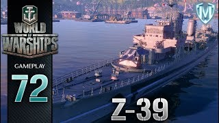 World Of Warships - Z-39 - Gameplay PL #72