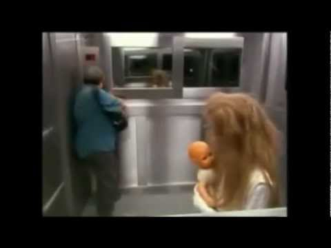 Elevator Hidden Camera Girl Scares video