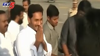 Jagan Mohan Reddy Arrives At PM Modiand#39;s Residence By 10AM | Delhi |  TV5 News