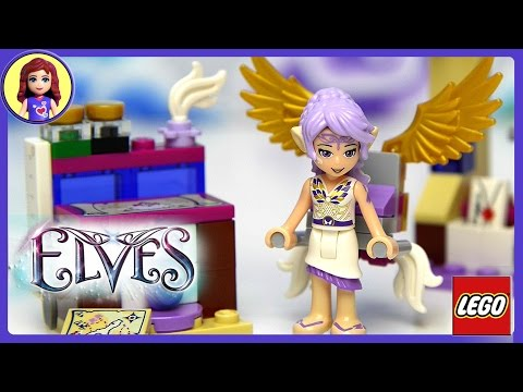 Lego Elves Aira's Creative Workshop Unboxing Building Review - Kids Toys