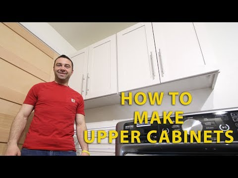 How to Make Upper Cabinets