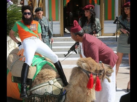 Sacha Baron Cohen's Embarrassing Cannes Moment!