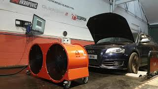 Audi S3 8P NVM Stage 2 tuned- NV Motorsport UK