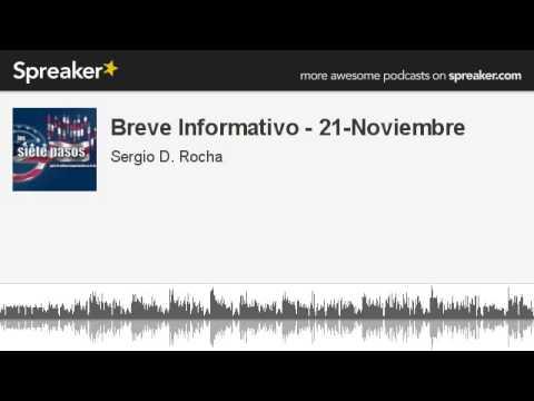 Breve Informativo - 21-Noviembre