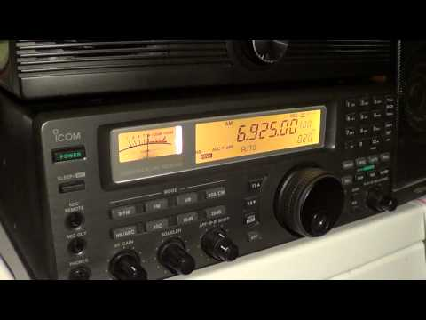XFM Pirate radio station 6925 Khz AM september 15th 2012 0230 UT