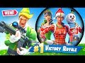 Fortnite But You Can *ONLY* Loot Christmas Skins (Challenge)