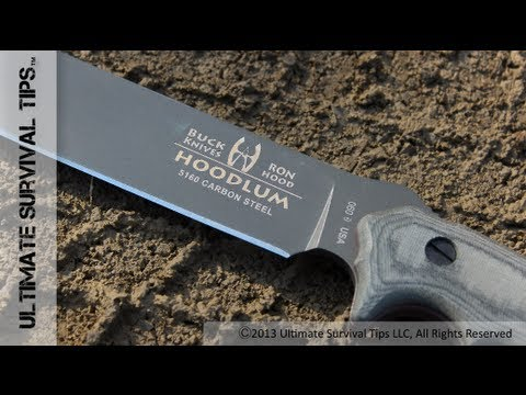 ONE Knife for Survival. Bushcraft and a Zombie Apocalypse - Buck Hoodlum Survival Knife Review
