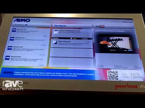 InfoComm 2014: Almo Pro AV Explains Peerless-AV's TouchSystems Kiosks