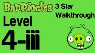 Bad Piggies - Bonus Level 3-III 3 Star Walkthrough Flight in the Night