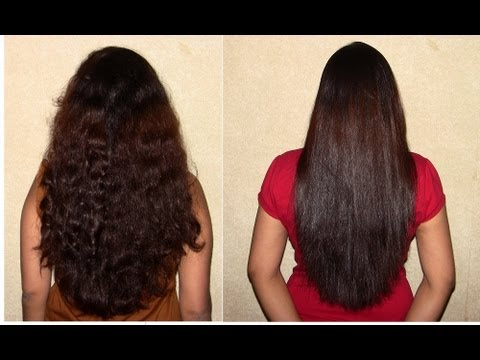 My Daily Hair Straightening Routine How To Get Perfect