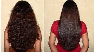 My Daily Hair Straightening Routine : How to get perfect pin point straight hair