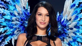 Bella Hadid Suffers Wardrobe FAIL At 2017 Victoria's Secret Fashion Show
