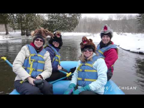 Winter Rafting in Petoskey | Pure Michigan