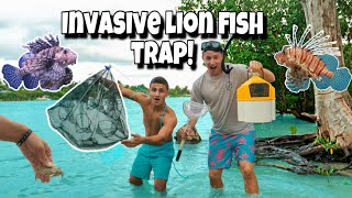 FISH TRAP Catches INVASIVE FISH For My AQUARIUM!!