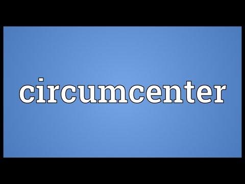 Header of circumcenter