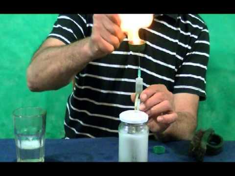 HIDROGENO SIN ELECTRICIDAD (Solo con vinagre)..HIDROGÊNIO sem eletricidade (Apenas com vinagre) ....