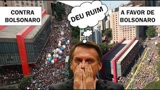 Pesquisas avisaram que Bolsonaro teria manifestações menores
