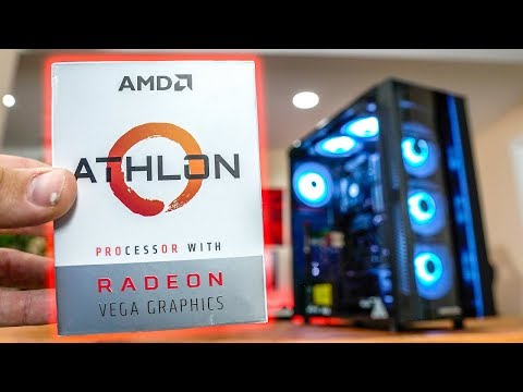 AMD Athlon 200GE Benchmarks Without A Graphics Card!