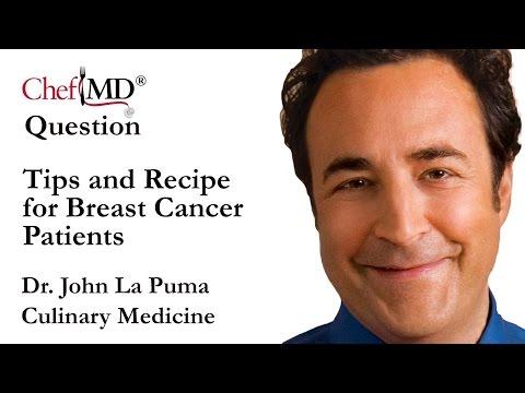 ChefMD® Dr. John La Puma -Tips and Recipes for Breast Cancer Patients Culinary Medicine FAQ