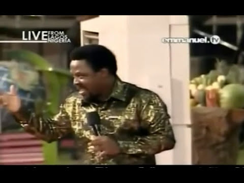 You Must Be Born Again TB Joshua