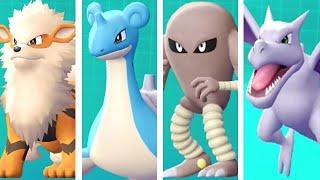 Pokemon Let's Go Pikachu & Eevee - All Gift Pokemon Locations