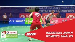 SF WS Gregoria Mariska TUNJUNG INA vs. Akane YAMAGUCHI JPN BWF 2019