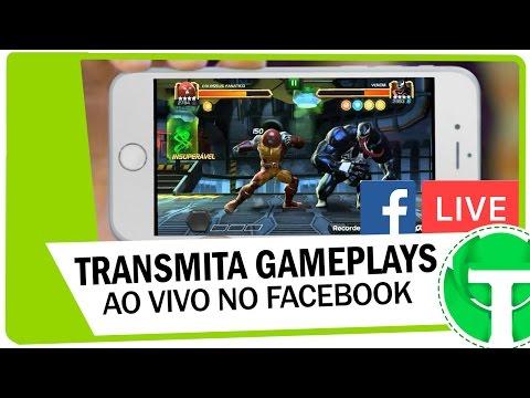 Como transmitir gameplays ao vivo no Facebook pelo ANDROID