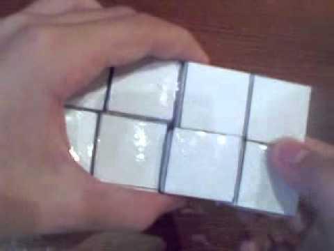 Японский кубик-рубик из бумаги