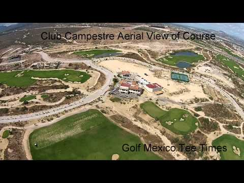 Aerial View of Club Campestre  Golf Mexico Tee Times