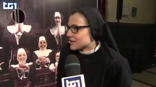 Suor Cristina the first original Sister Act in the world